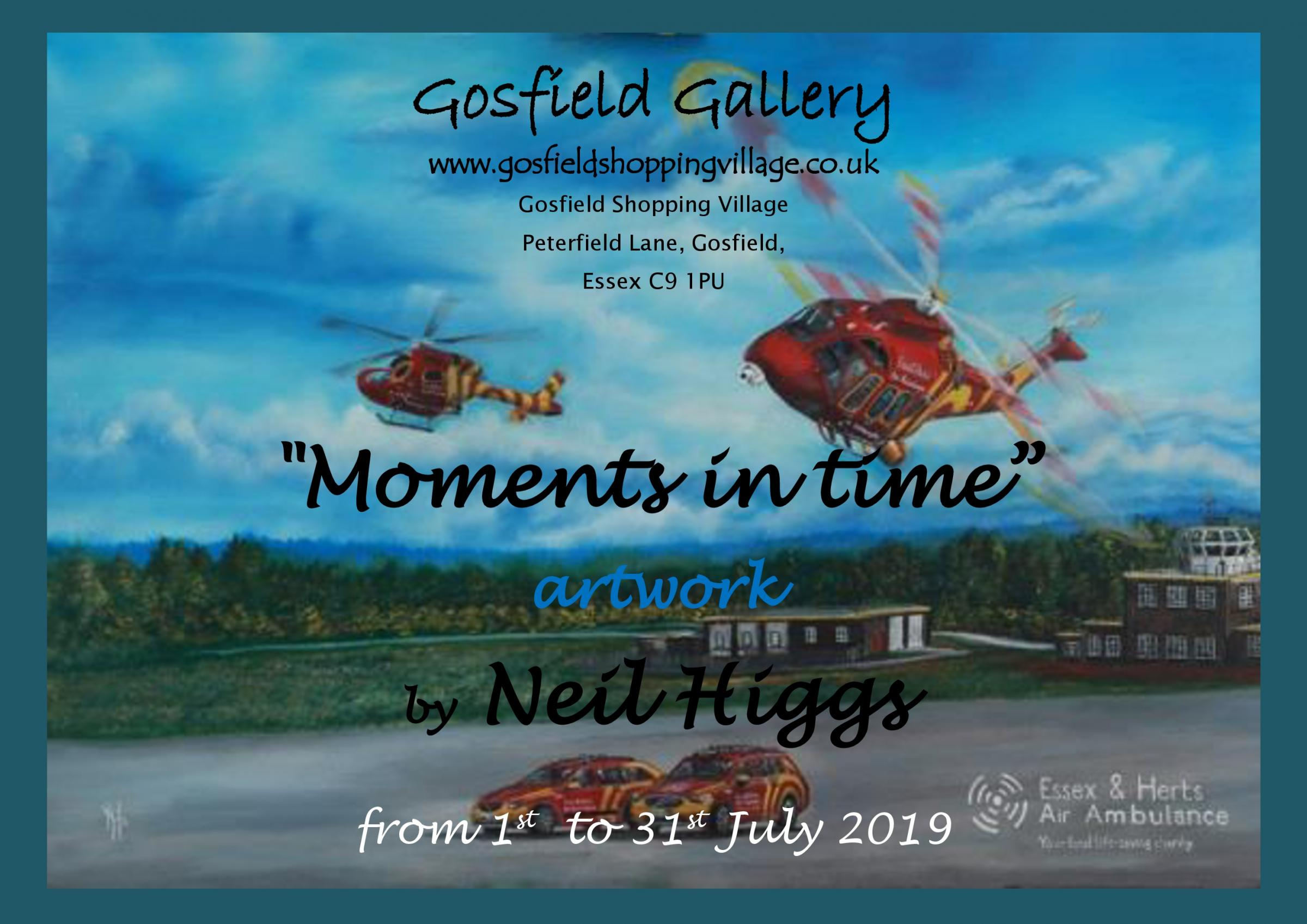 'Moments in Time' by Neil Higgs