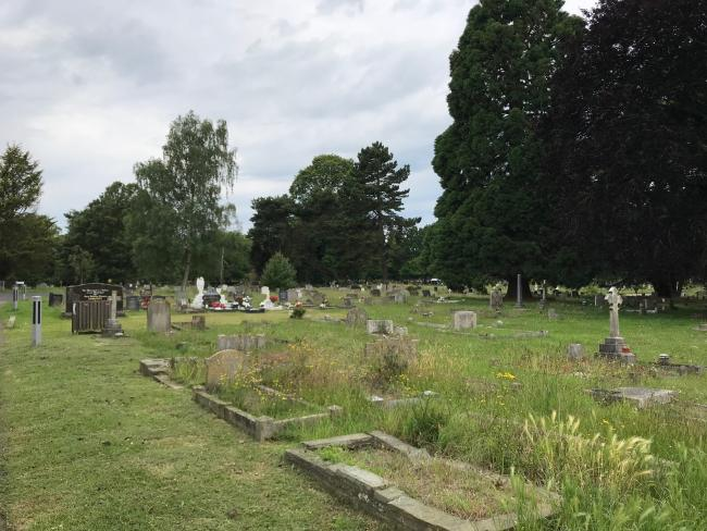 Colchester Cemetary and Crematorium, in Mersea Road