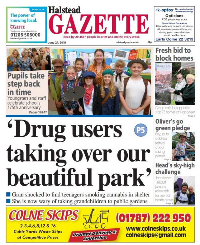 This week's Halstead Gazette