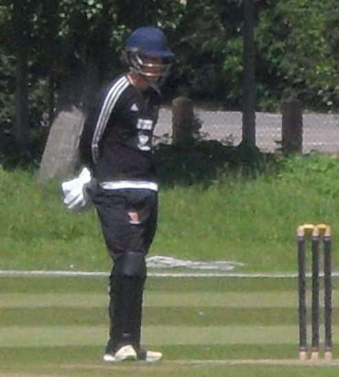 Colchester and East Essex Simon Fernandes cricket