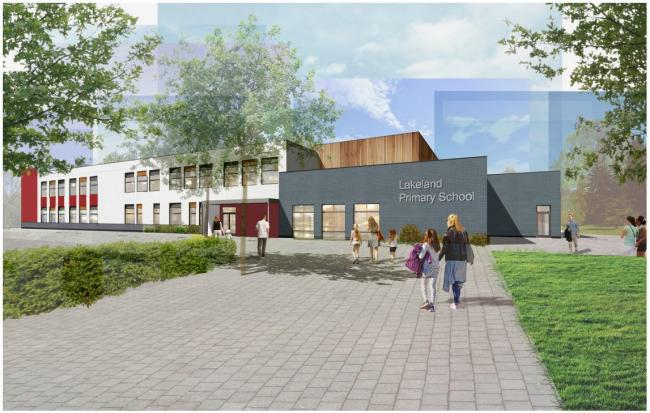 Vision - what Lakelands Primary School could look like