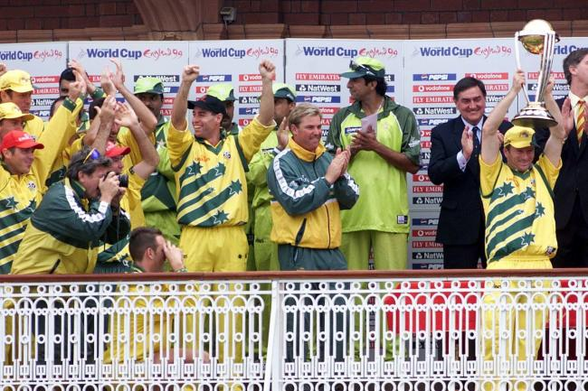 Steve Waugh's Australia won the World Cup in 1999