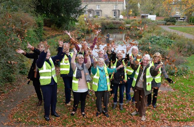 TOP TEAM: Halstead In Bloom's volunteers from a previous clean up