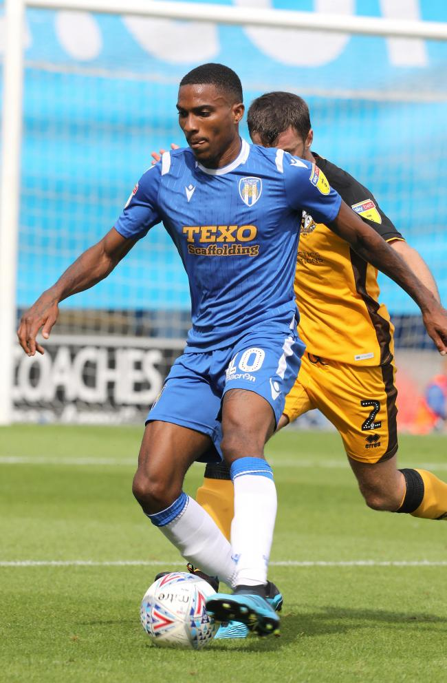 Return - Jevani Brown is back at Colchester United ahead of the new League Two season Picture: STEVE BRADING