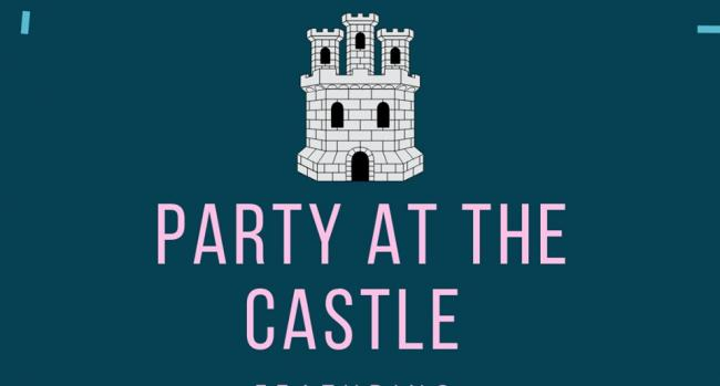 Party time at Hedingham Castle