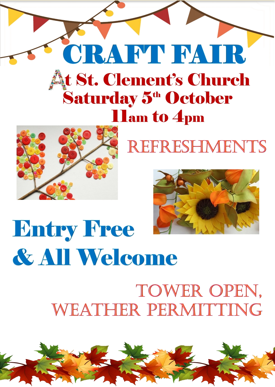 St Clements Craft Fair