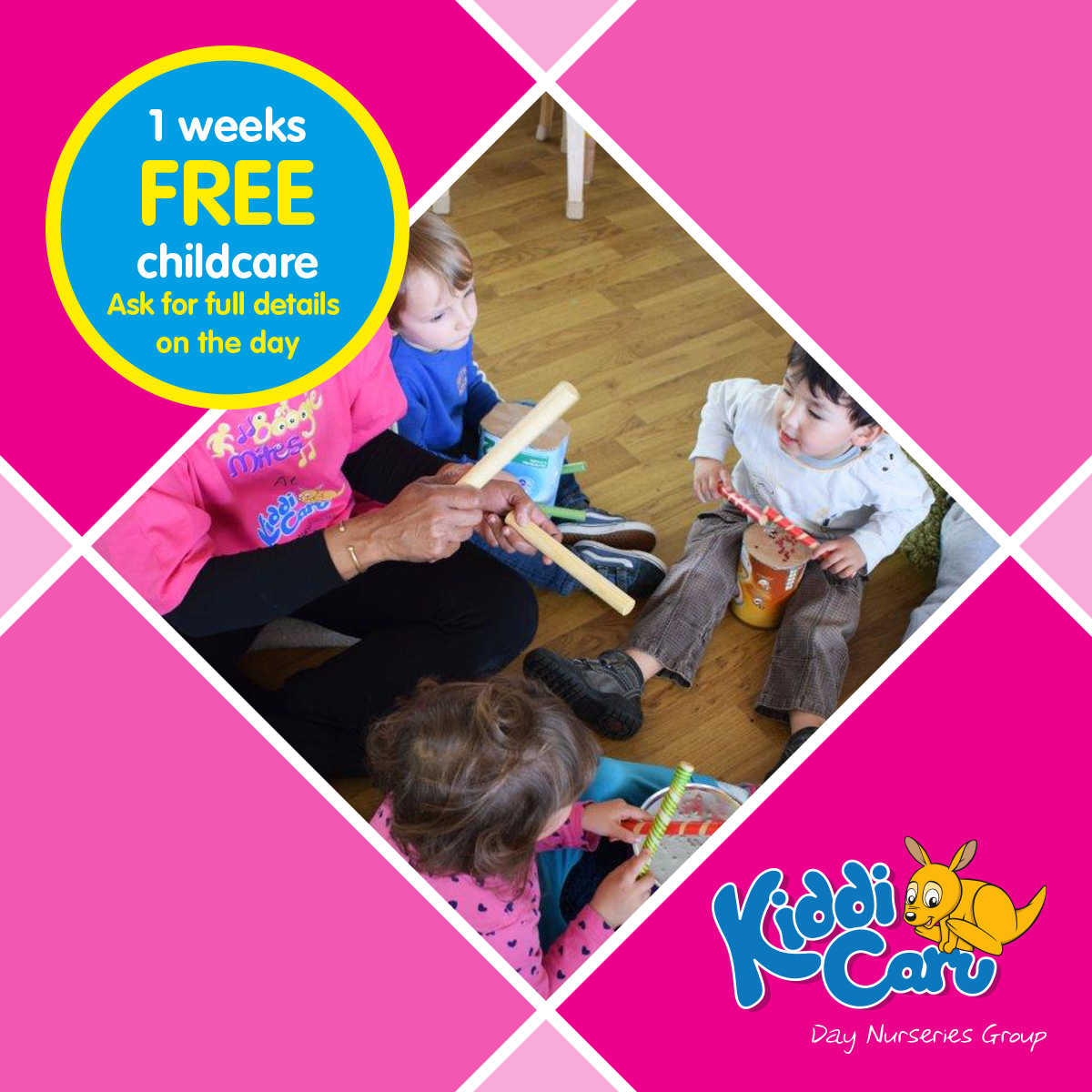 Childcare Open Event at Kiddi Caru Day Nursery and Preschool in Colchester