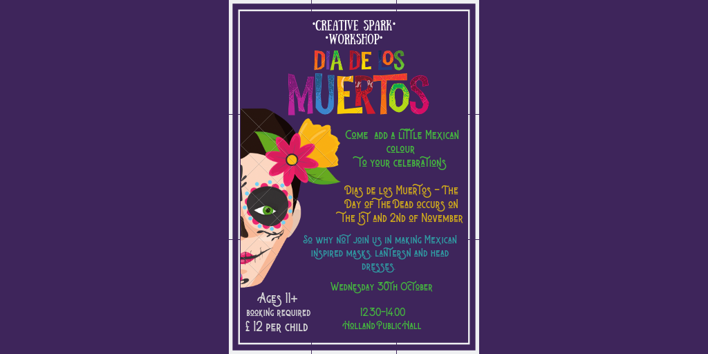 Halloween Craft Workshop - Dias de los Muertos