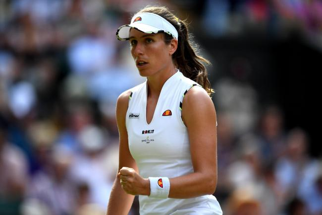 Johanna Konta reached the quarter-finals at Wimbledon among other strong performances