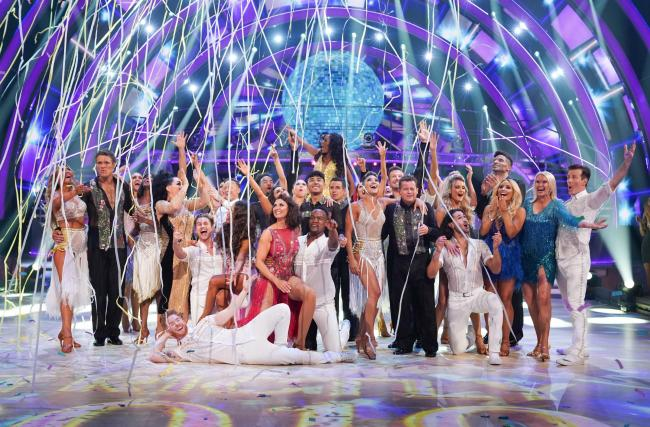 WARNING: Embargoed for publication until 00:00:01 on 07/09/2019 - Programme Name: Strictly Come Dancing 2019 - TX: n/a - Episode: Strictly Come Dancing 2019 - Launch Show (No. n/a) - Picture Shows: **EMBARGOED FOR PUBLICATION UNTIL 00:01 HRS ON SATURDAY 7