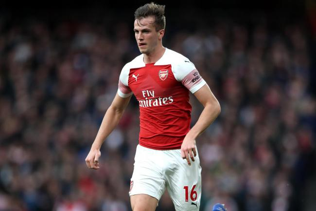 Arsenal defender Rob Holding could soon be back in contention following his long-term knee injury.