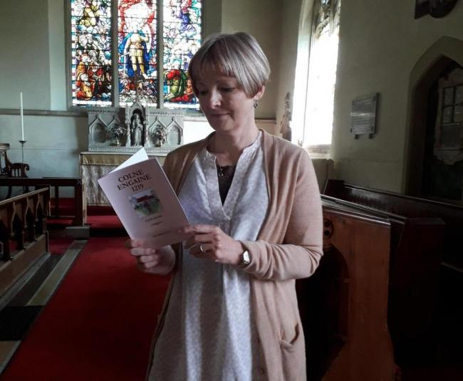 1219 AND ALL THAT: Dr Cate Gunn has written a book about Colne Engaine's 800-year history