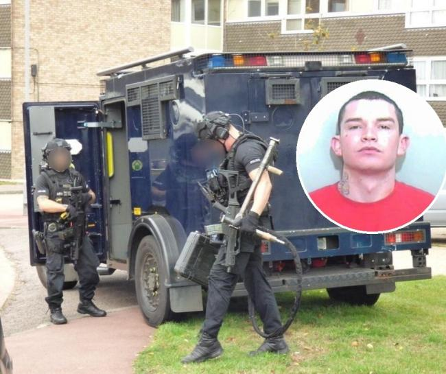 Man who sparked 10-hour armed stand-off is jailed for 12 months
