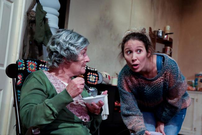 Sara Green and Charlotte Still in The Beauty Queen of Leenane. Picture by Sally Parkinson