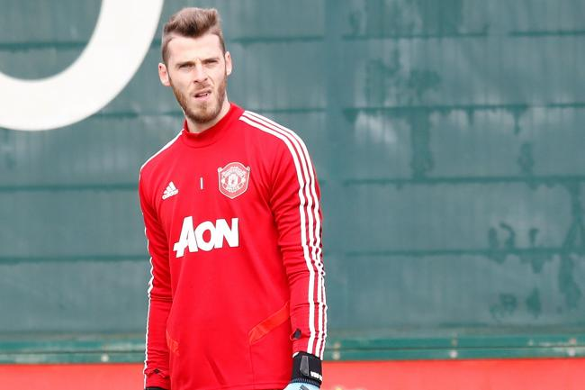 David De Gea is likely to miss the Liverpool clash