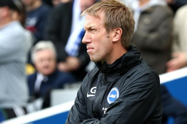 Graham Potter believes there is more to come from Brighton