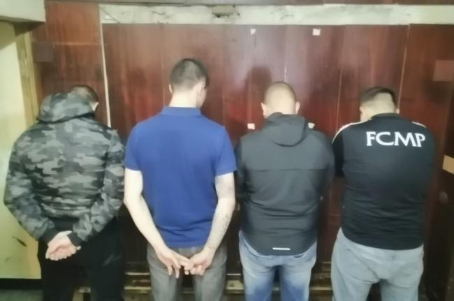 Four of the five men arrested by Bulgarian police on Friday morning in relation to racist behaviour during the England game on Monday night