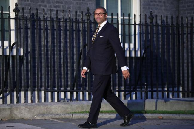 James Cleverly arriving for a meeting with the new Prime Minister Boris Johnson at Downing Street, London. PRESS ASSOCIATION Photo. Picture date: Wednesday July 24, 2019. See PA story POLITICS Tories. Photo credit should read: Jonathan Brady/PA Wire.