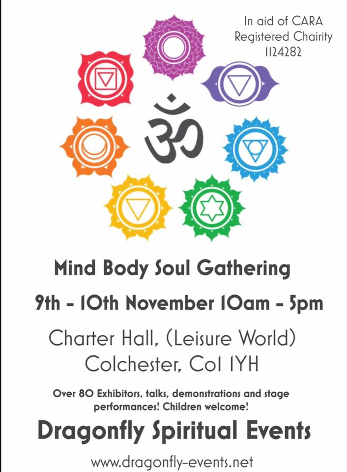 Mind Body Spirit Gathering - Colchester Charter Hall