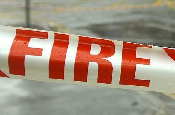 A fire broke out in Tiptree