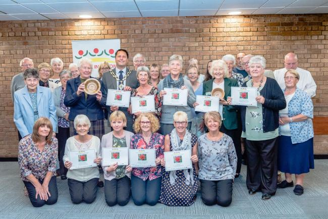 Halstead In Bloom team is aiming for national glory