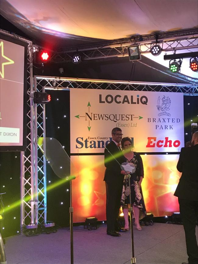 Zoe Crane - Essex Business Woman of the year