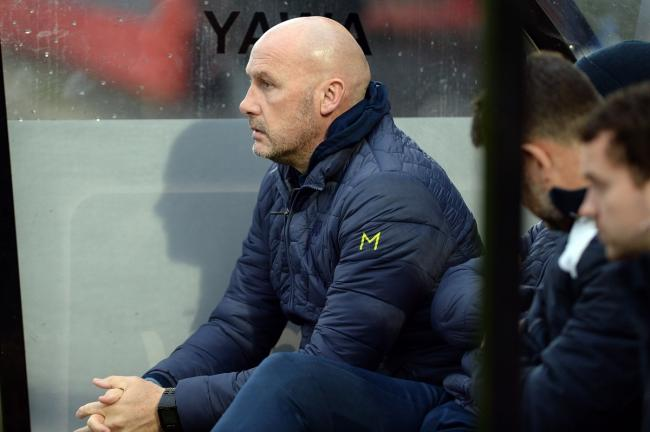 Looking for progress - Colchester United head coach John McGreal is looking for victory over Stevenage Picture: PAGEPIX