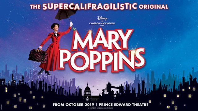 Mary Poppins Theatre Trip