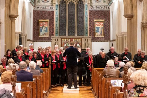 Hedingham Singers are staging their Concert For Christmas. Photo: Tony Sale