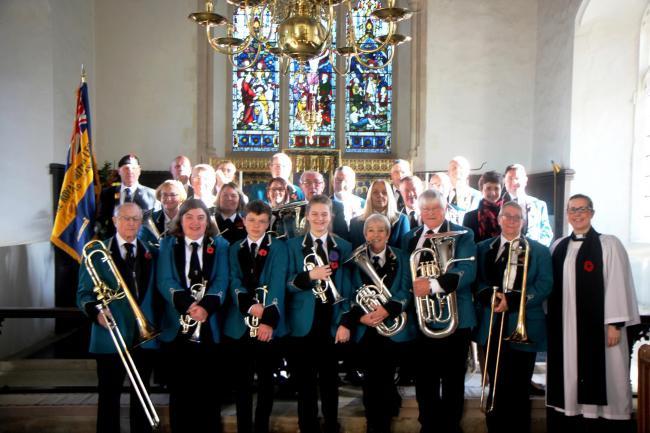Boxted Methodist Silver Band