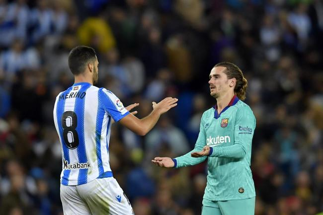 Barcelona and Real Sociedad shared the points at the Anoeta