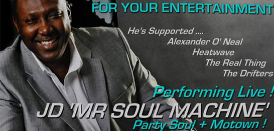 Soul Night with JD 'The Soul machine'