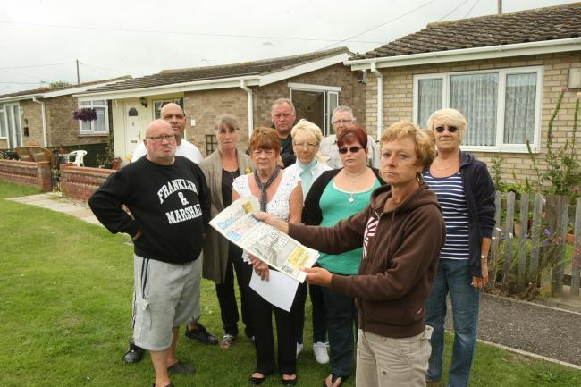 VICTION WARNING: Residents in Point Clear will fight plans to evict them from their homes this winter