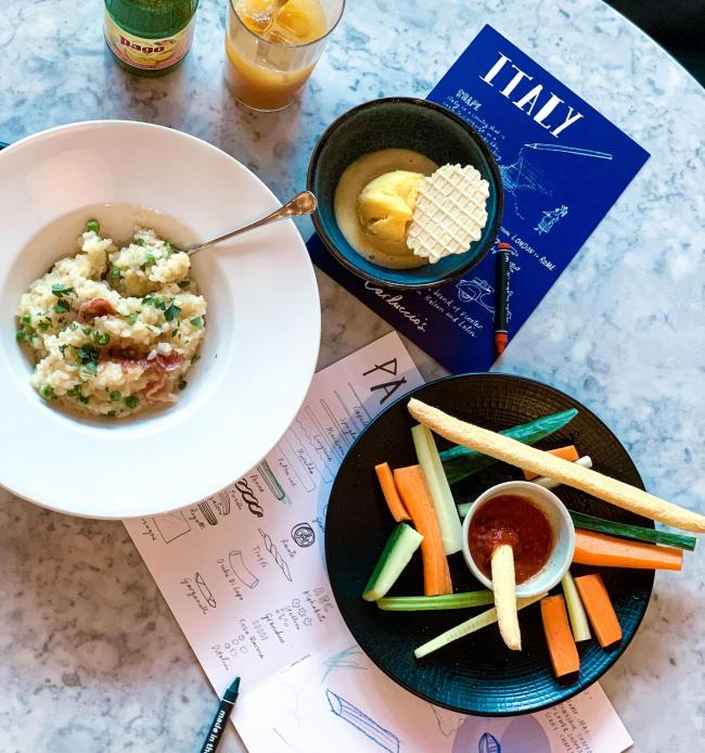 The kid's meal at Carluccio