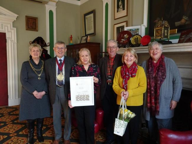 The parish council were awarded a gold award last year