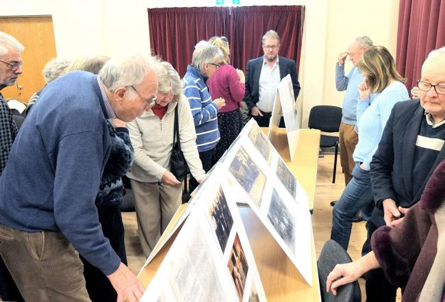 Interest - members of the public at the exhibition.