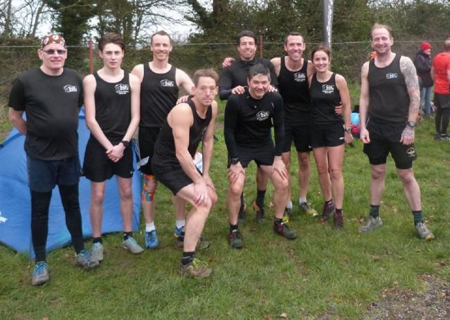 The CATs senior men's team at Ardleigh on Sunday