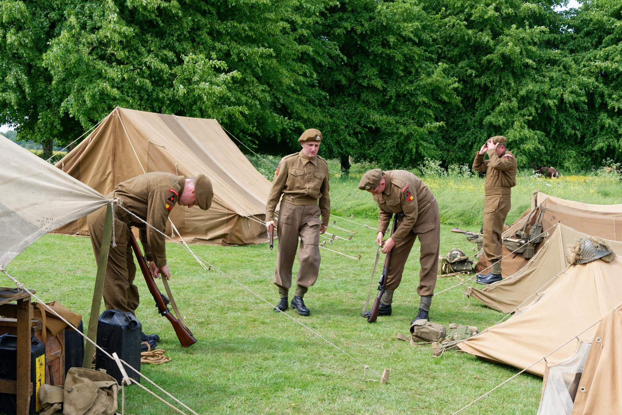 Suffolk Regiment Living History Society