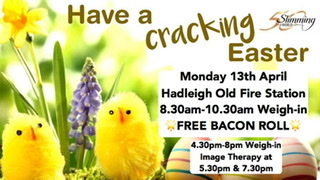 Easter Monday Free Bacon Roll! Slimming World Hadleigh Old Fire Station