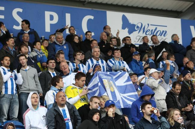 Bringing people together - Colchester United fans  are currently without their football fix