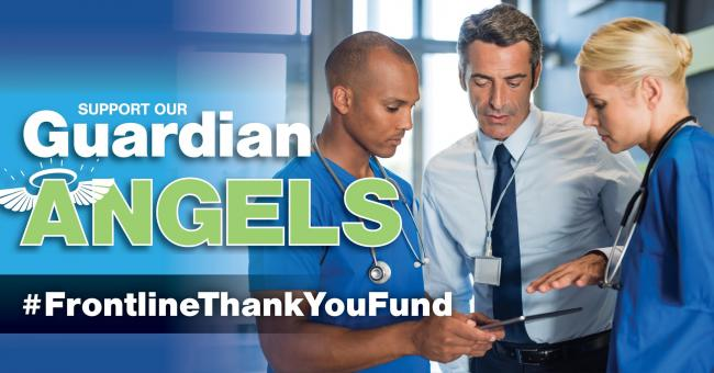 Guardian Angels - help donate cash to the NHS