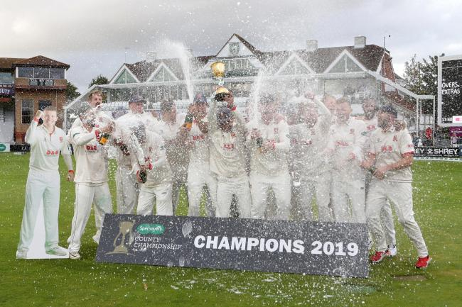 Defending  champions - Essex won the county championship last year Picture: TGS PHOTOS