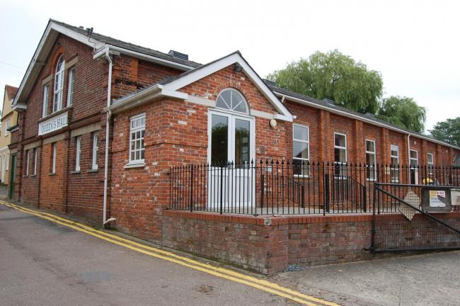 Halstead Town Council building, Queens Hall