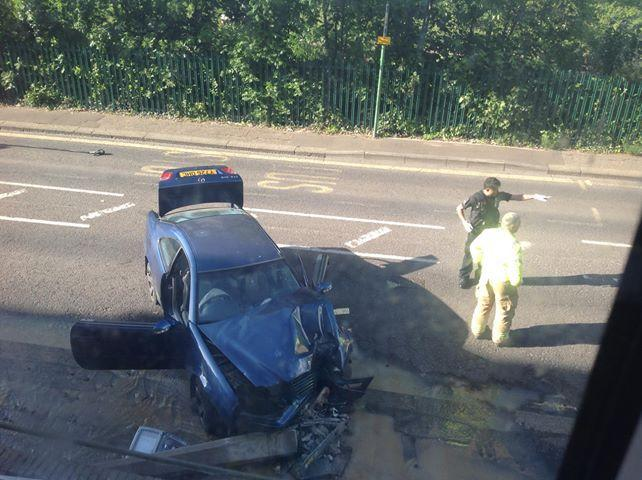 Man rushed to hospital with serious injuries after Westcliff crash
