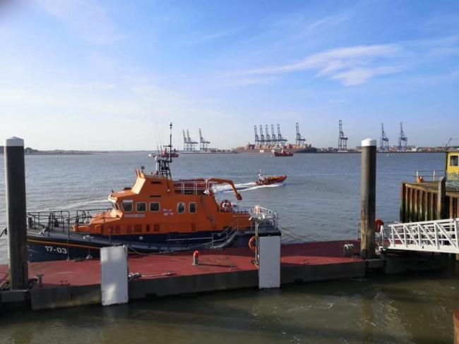 RNLI: The lifeboat was paged on Bank Holiday Monday