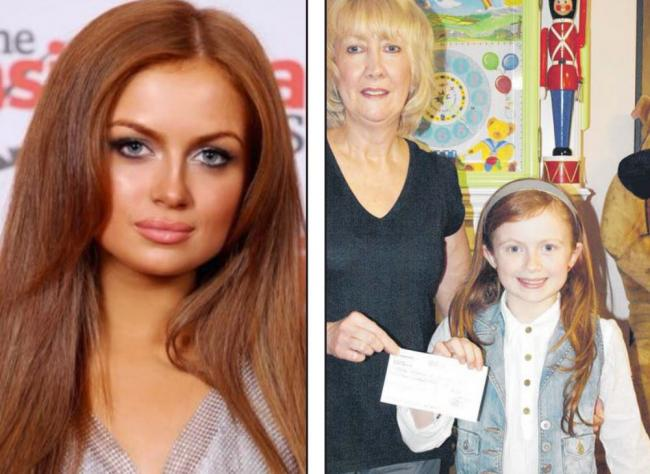 Driving Miss Maisie - Maisie Smith from Westcliff, is pictured here in 2011 when she was 10