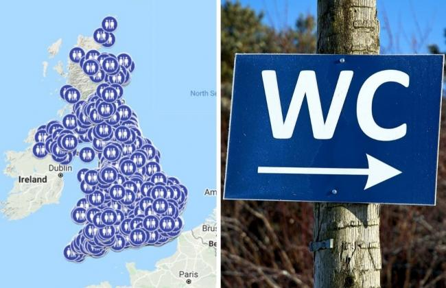 Lockdown loos: Here's where every public toilet is open across the UK