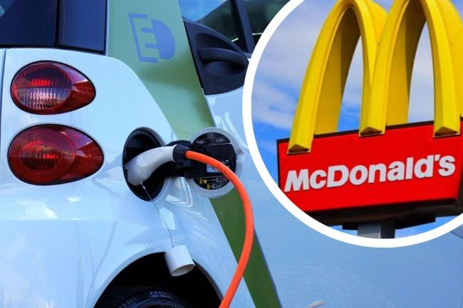 McCharge: Electric car charge points to be installed at McDonald's branches. Picture: Newsquest