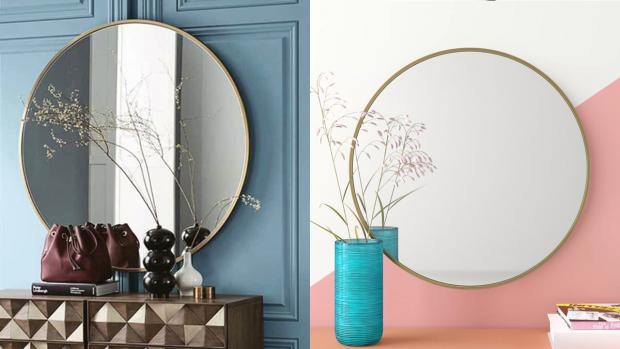 Halstead Gazette: A bigger, more modern mirror will create the illusion of more space. Credit: Wayfair
