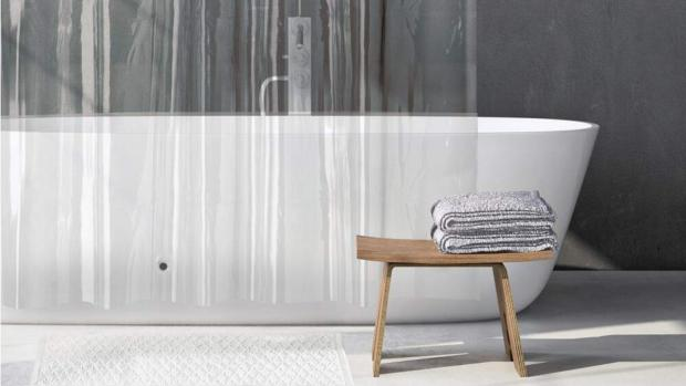 Halstead Gazette: A clean shower liner will make your bathroom much more welcoming. Credit: Amazon